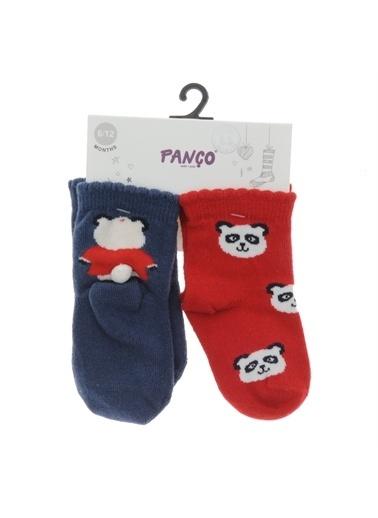 Panço Kız Bebek 2 li Çorap 18236022108 Renksiz